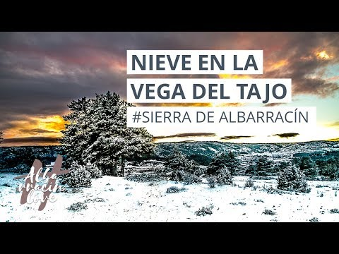 ☃️❄️ Sierra de Albarracín NEVADA❄️☃️ Vega del Tajo (TERUEL)