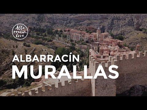 MURALLAS de Albarracín, Teruel [DRONE] Desde el AIRE - IMPRESCINDIBLE 2018