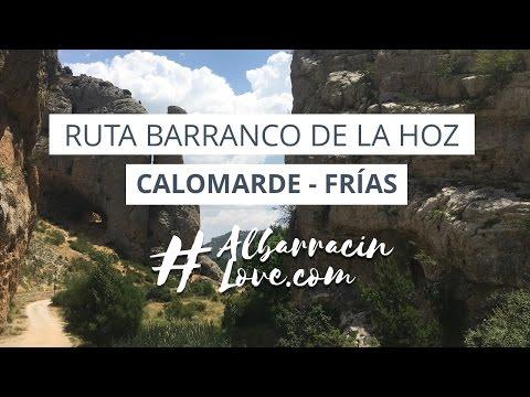 Ruta del Barranco de la Hoz o PUENTES COLGANTES a través del Cañon del Río Blanco