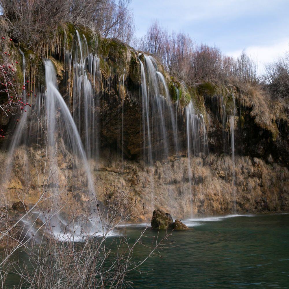 Fotografía de la Cascada del Molino de San Pedro, una ruta cerca Albarracin