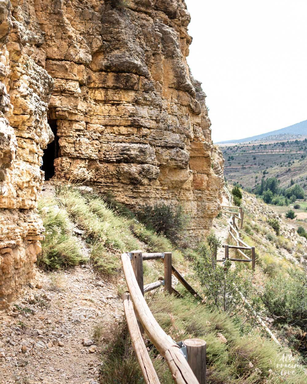 Fotografía del Acueducto de Albarracín