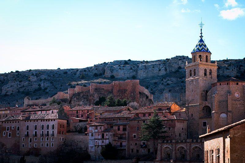 Fotografía de la Sierra de Albarracin
