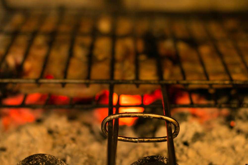 Fotografía de ternasco de aragón a la brasa, especialidad de Albarracin