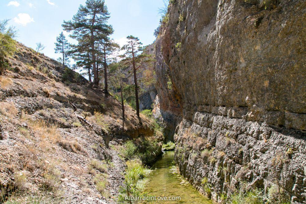 Foto del paisaje en la Ruta