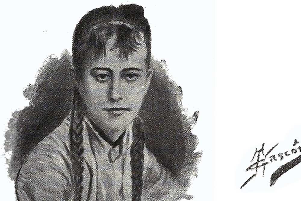 Fotografia de Blanca Catalan de Ocón, primera botánica Española