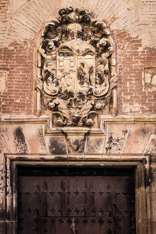 Imagen del escudo de la Casa de los Monterde de Albarracín