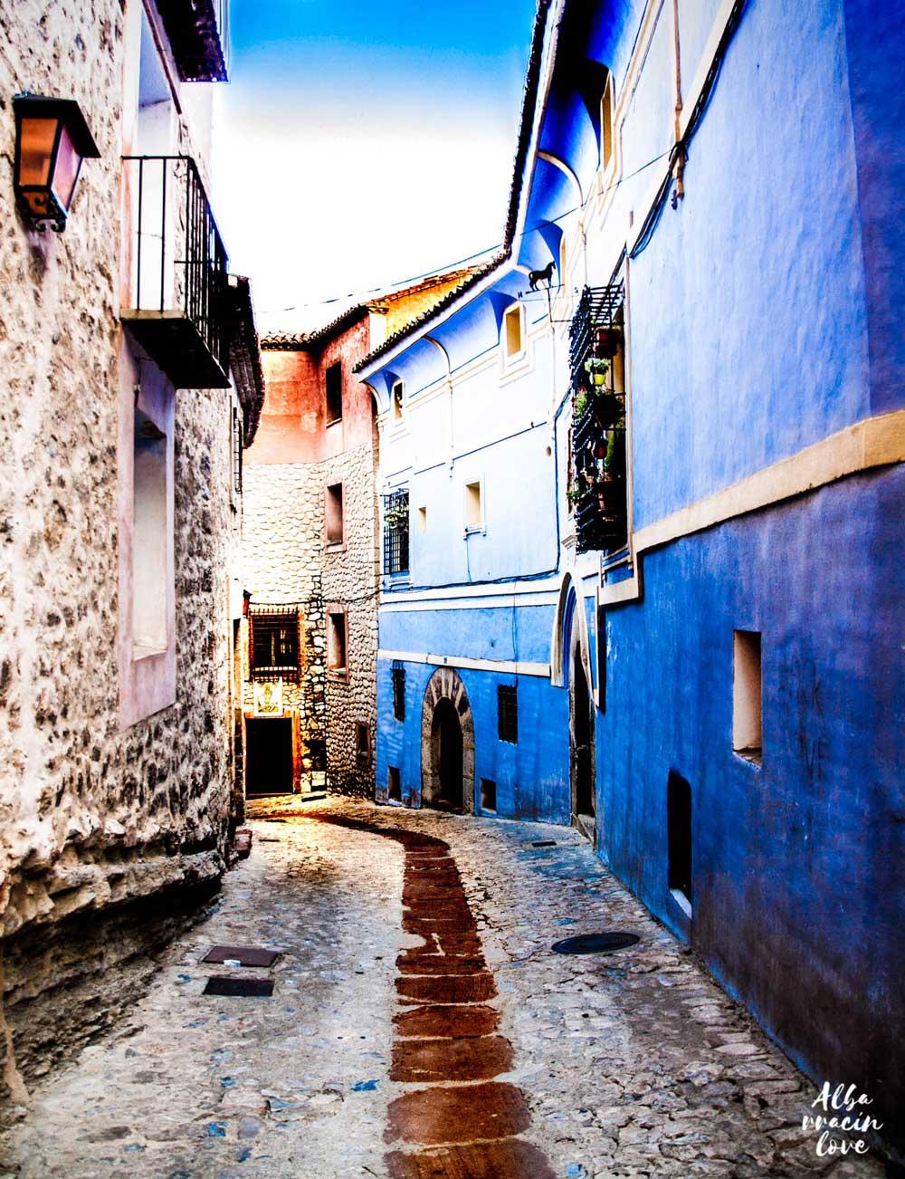 Imagen de la Casa de los Navarro de Arzuriaga en Albarracín