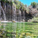 Fotografia de la cascada del molino de san pedro, en Albarracin