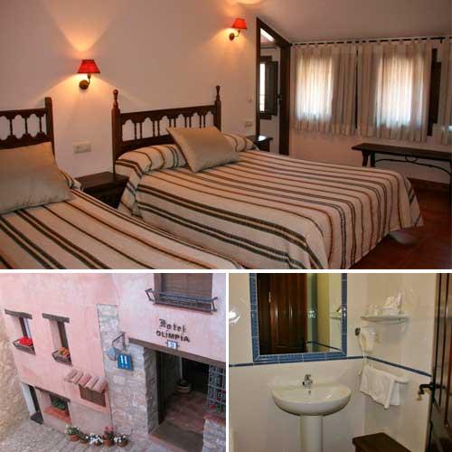 Fotografia del Hotel Olimpia en Albarracin