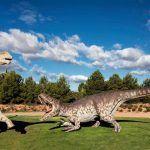 Fotografía de un Dinosaurio en Dinopolis