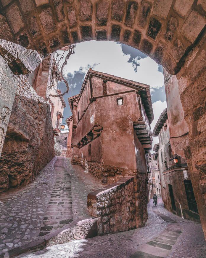 Fotografía de la Julianeta en la Sierra de Albarracín, Teruel.
