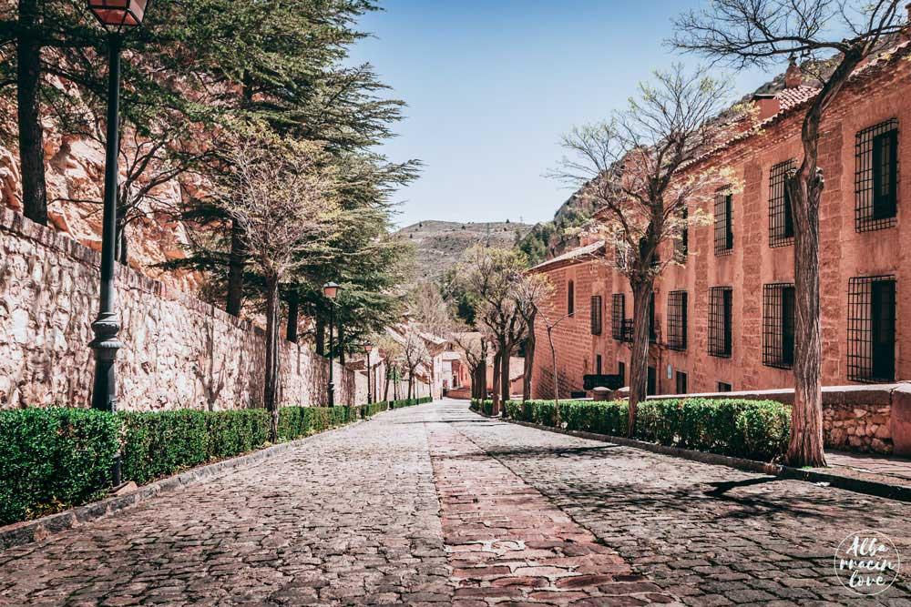 Imagen de una de las calles de Albarracin