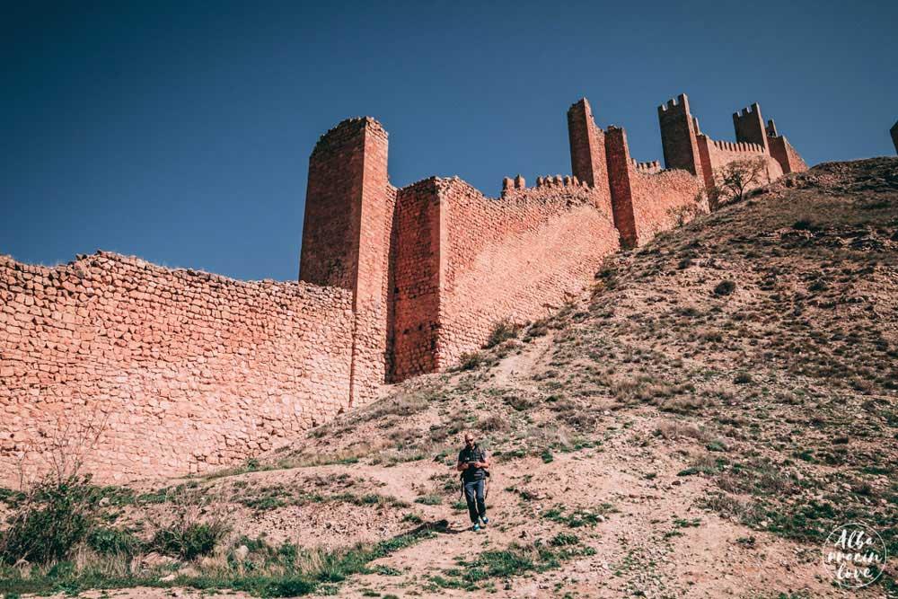 Fotografía que ver en Albarracin: subida a las murallas