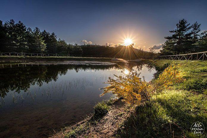 Foto del Lago del Nacimiento del Río Tajo