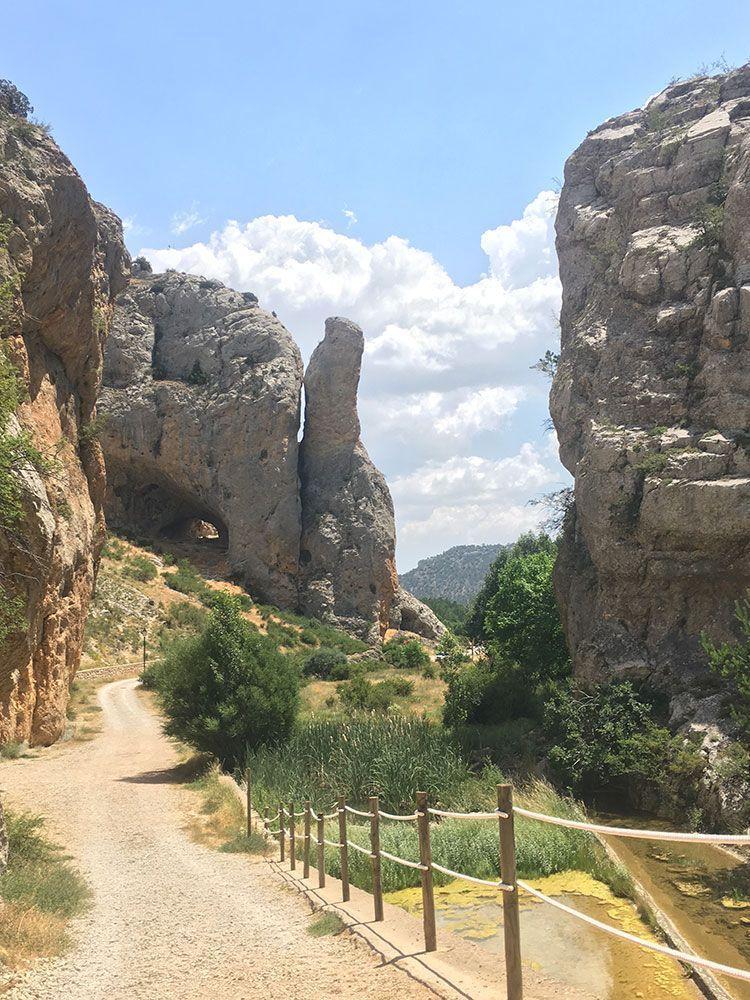 Fotografia del Barranco de la Hoz