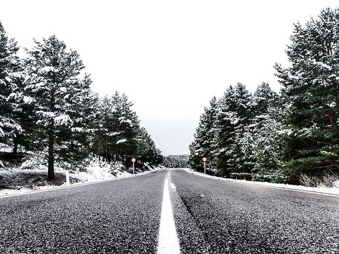 Imagen de las rutas en coche en la Sierra de Albarracin